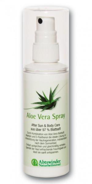 aloe vera spray abtswinder pflege pflege welt. Black Bedroom Furniture Sets. Home Design Ideas