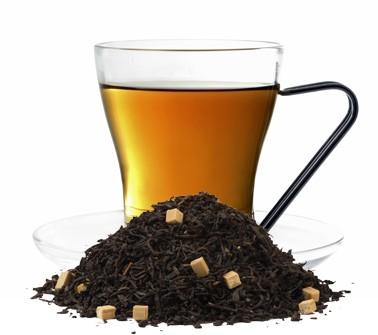Karamel aromatisierte Schwarztee Mischung