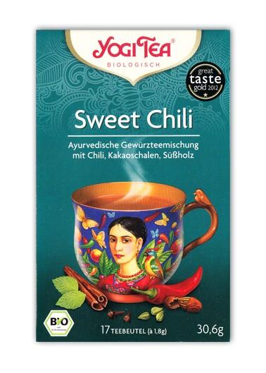 Yogi Tee Sweet Chili Aufgussbeutel bio