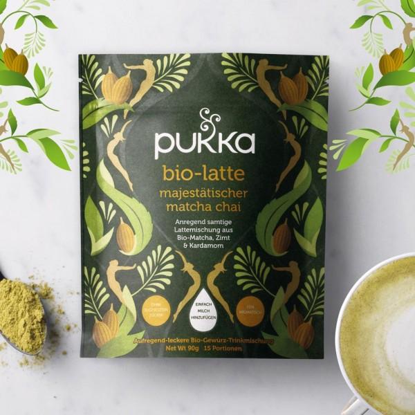Pukka Bio Latte Majestätischer Matcha Chai