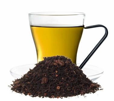 Tea & Coffee aromatisierte Schwarztee Mischung