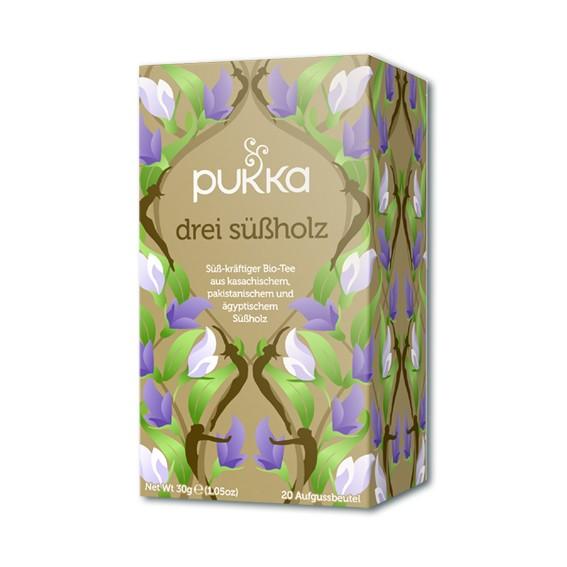 Drei Süßholz Pukka Tee Bio