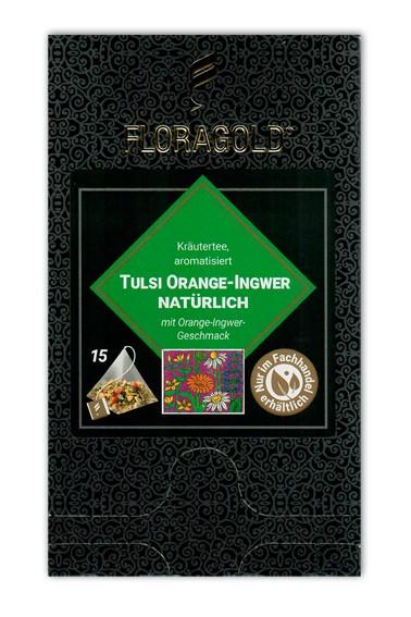 Terra Tulsi Orange-Ingwer Pyramidenbeutel