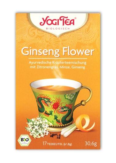 Yogi Tao Tee Ginseng Flower Aufgussbeutel bio