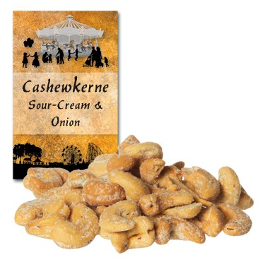Cashewkerne Sour-Cream & Onion