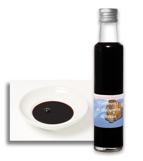 Balsam Essig schwarz - Condimento di Balsamico Riserva