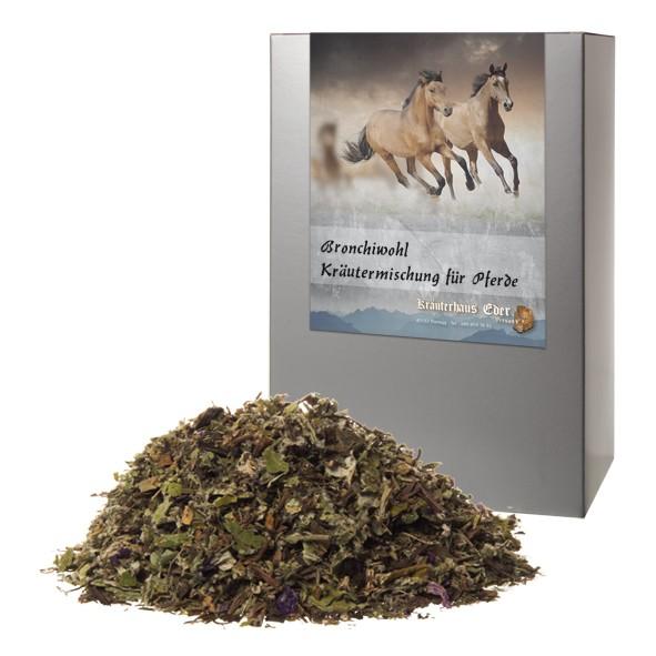 Bronchiwohl Kräutermischung für Pferde