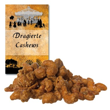 Dragierte Cashews