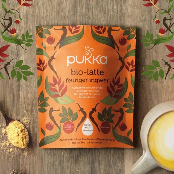 Pukka Bio Latte Feuriger Ingwer