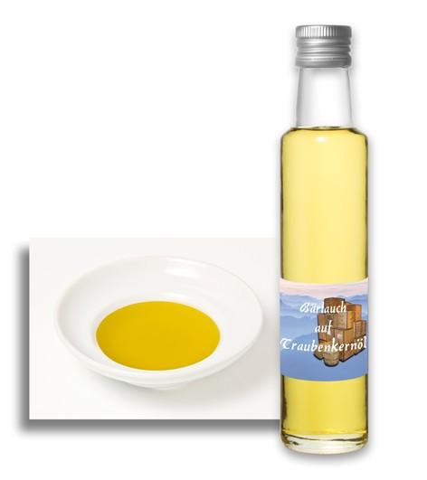 Bärlauch auf Traubenkernöl