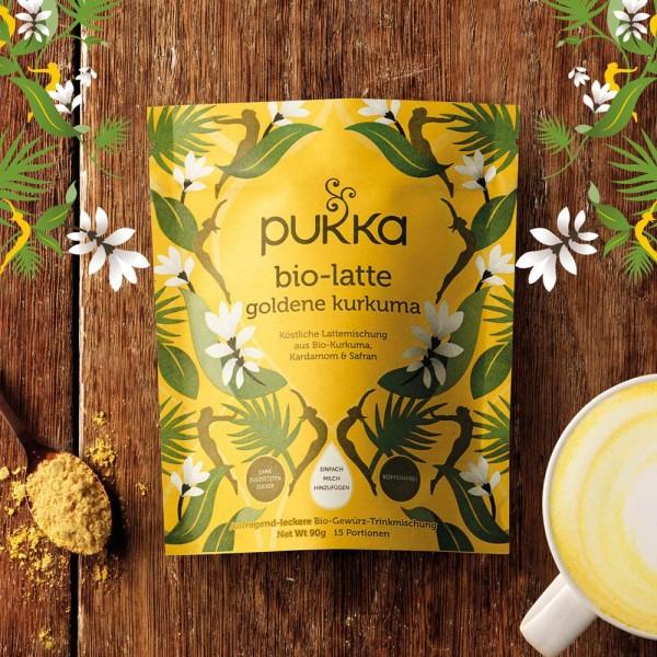 Pukka Bio Latte Goldene Kurkuma