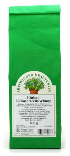 Ginkgo Kräuterteemischung