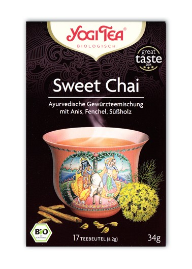Yogi Tee Sweet Chai Aufgussbeutel bio