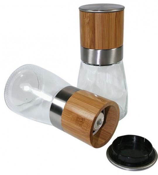 Salz- bzw. Pfeffermühle - Bambus