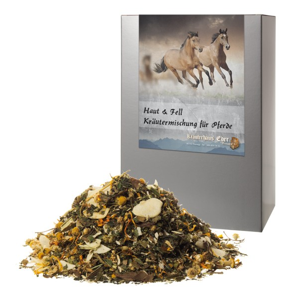 Haut & Fell Kräutermischung für Pferde