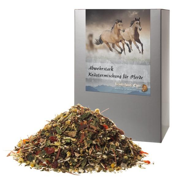 Abwehrstark Kräutermischung für Pferde