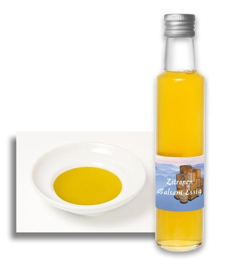 Zitronen Balsam-Essig