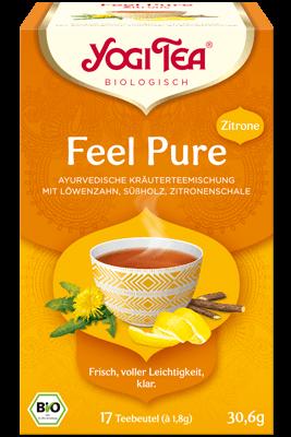 Yogi Tee Feel Pure - mit Zitrone bio
