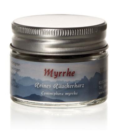 Myrrhe - Reines Räucherharz