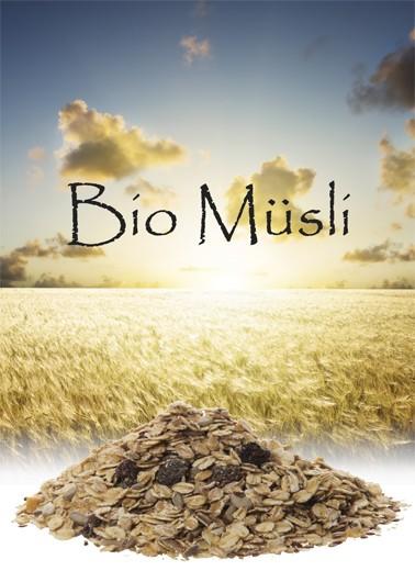 Bio Müsli Früchte