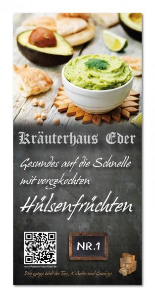 Flyer Nr.1 Vorgekochte Hülsenfrüchte