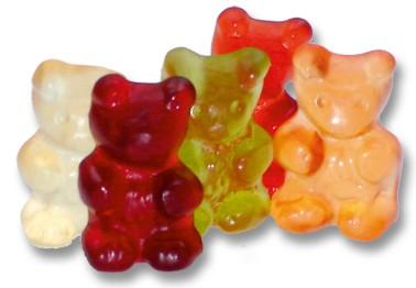 12 Frucht Mischung große Bären
