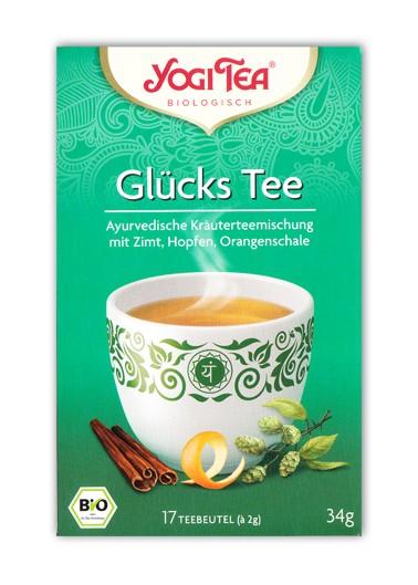 Glücks Tee Aufgussbeutel bio