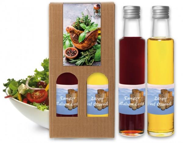 Tomaten Balsam Essig & Zitrone auf Olivenöl