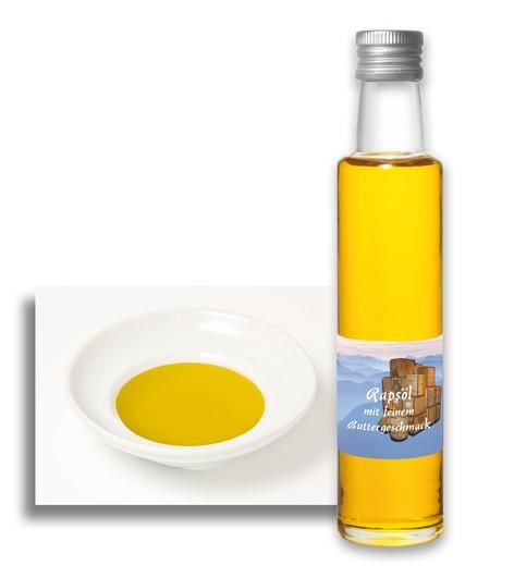 Rapsöl mit feinem Buttergeschmack