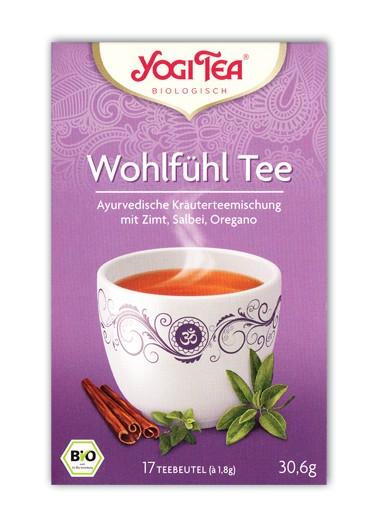 Wohlfühl Tee Aufgussbeutel bio