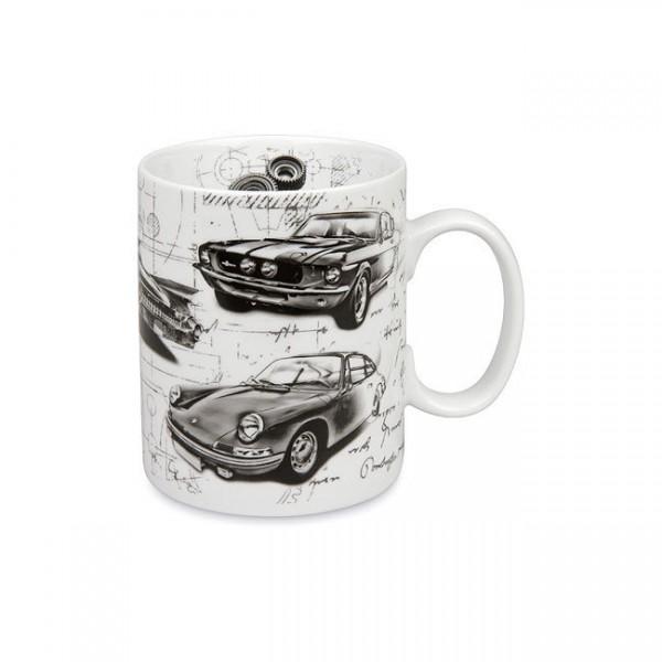 Becher Auto Legenden Sporty