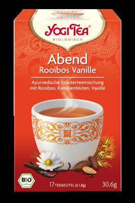 Abend Rooibos Vanille Tee Aufgussbeutel bio