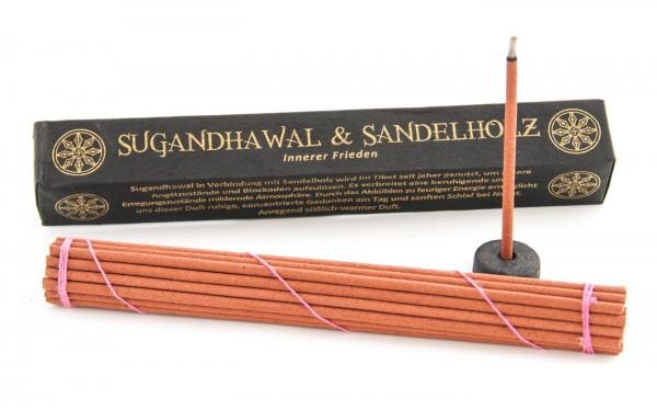 Räucherstäbchen Tibetan Line - Sugandhawal & Sandelholz