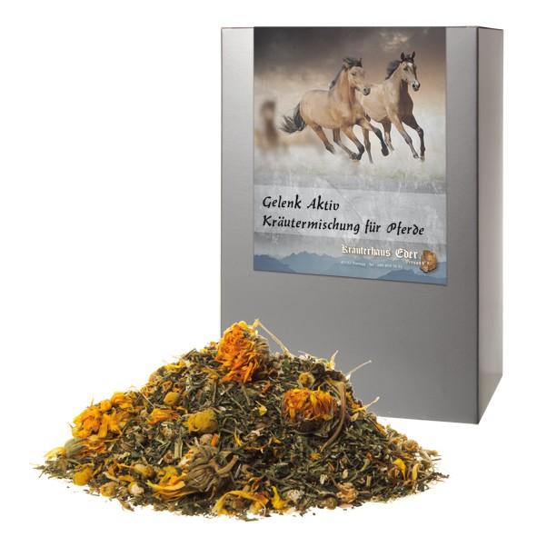 Gelenk Aktiv Kräutermischung für Pferde