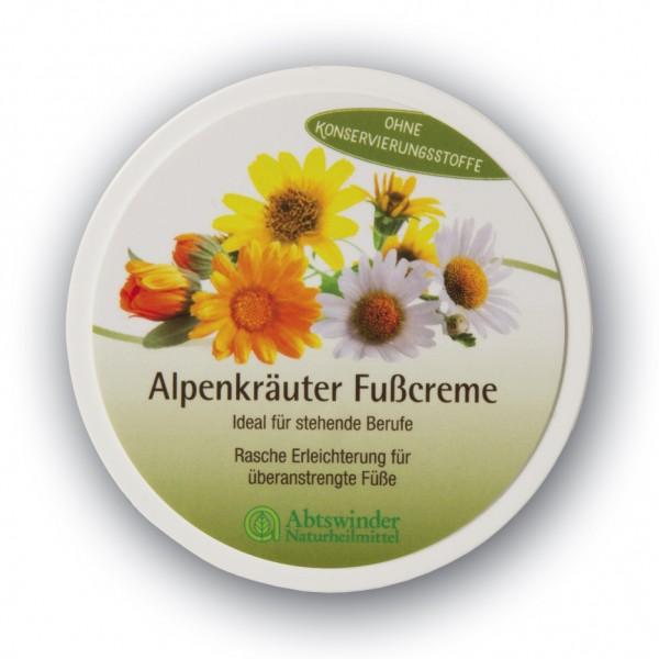 Alpenkräuter Fußcreme