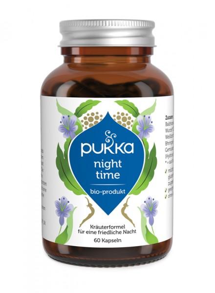 Pukka Night Time Kapseln Bio