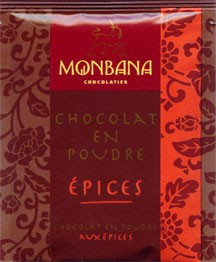 Monbana Trinkschokolade Épices / Gewürz