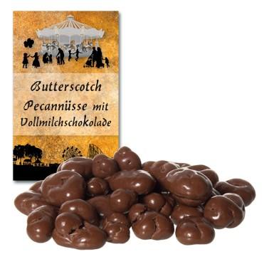 Butterscotch Pecannüsse mit Vollmilchschokolade
