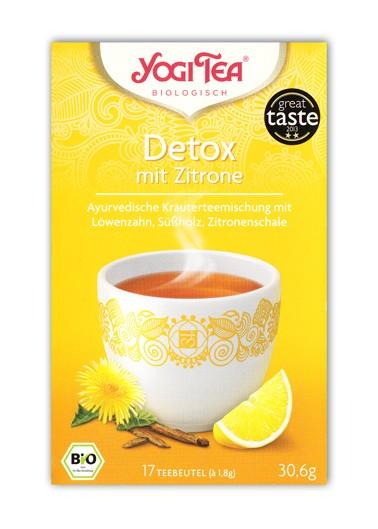 Yogi Tee Detox Deine Seele - mit Zitrone bio