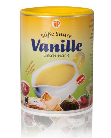 Süße Sauce Vanille