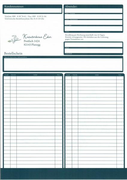 Kräuterhaus Eder Bestellformular