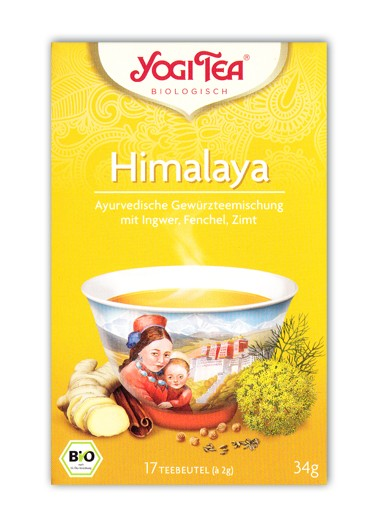 Yogi Tee Himalaya Aufgussbeutel bio
