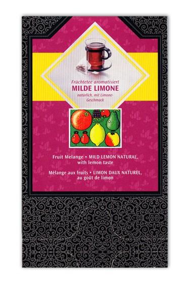 Milde Limone Pyramidenbeutel