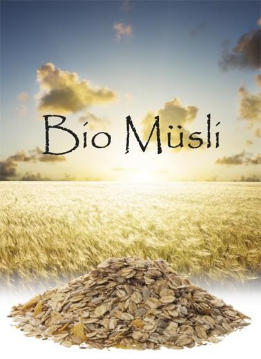 Bio Müsli Getreide pur