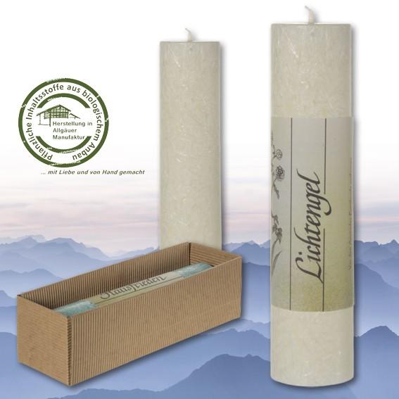 Lichtengel - Heilkräuter Kerze