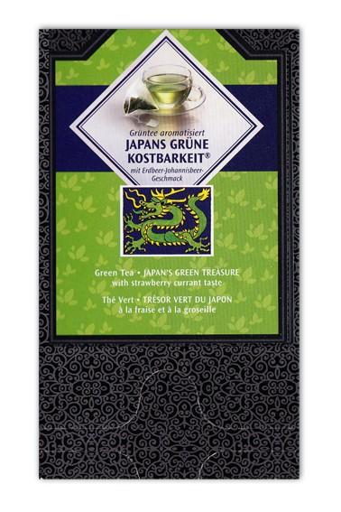 Japans grüne Kostbarkeit Pyramidenbeutel