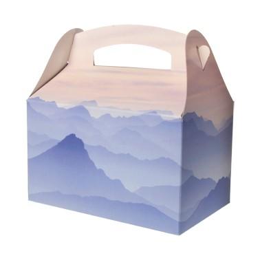 Geschenkbox Bergmotiv