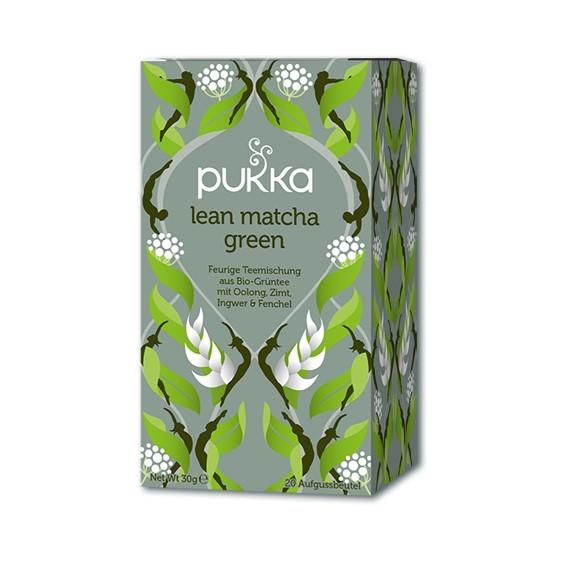 Lean Matcha Pukka Tee Bio