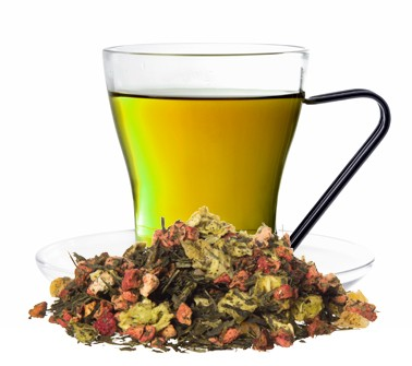 Galiamelone aromatisierte Grüntee Mischung