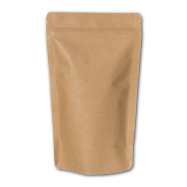 Standbodenbeutel kraftbraun 10 Stück (Doypack)